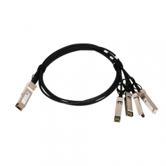 40G QSFP+ to 4x SFP+ breakout passive copper cables